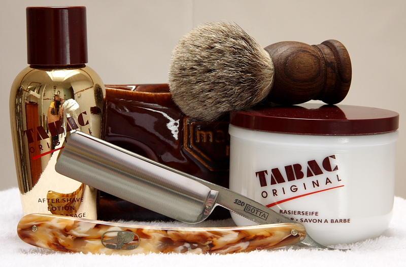 avis savon à barbe tabac original