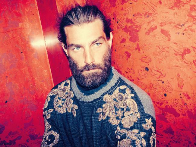 la barbe classique pleine