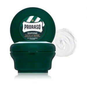 savon à barbe proraso menthol eucalyptus