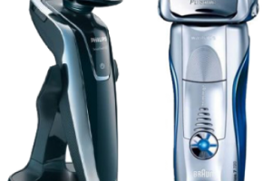 rasoir electrique braun ou philips