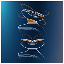 rasoir electrique philips sensotouch 2D mouvement
