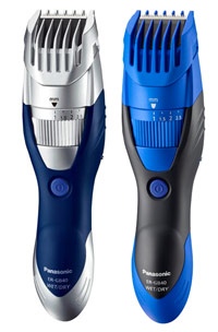 tondeuse a barbe panasonic er-gb40 bleue
