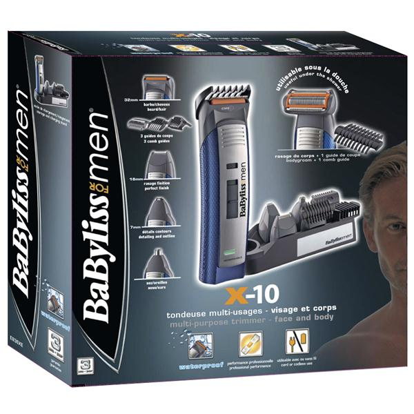 test avis tondeuse barbe Babyliss E836XE