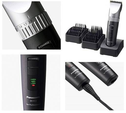 tondeuse cheveux pro panasonic ER-1512 test avis
