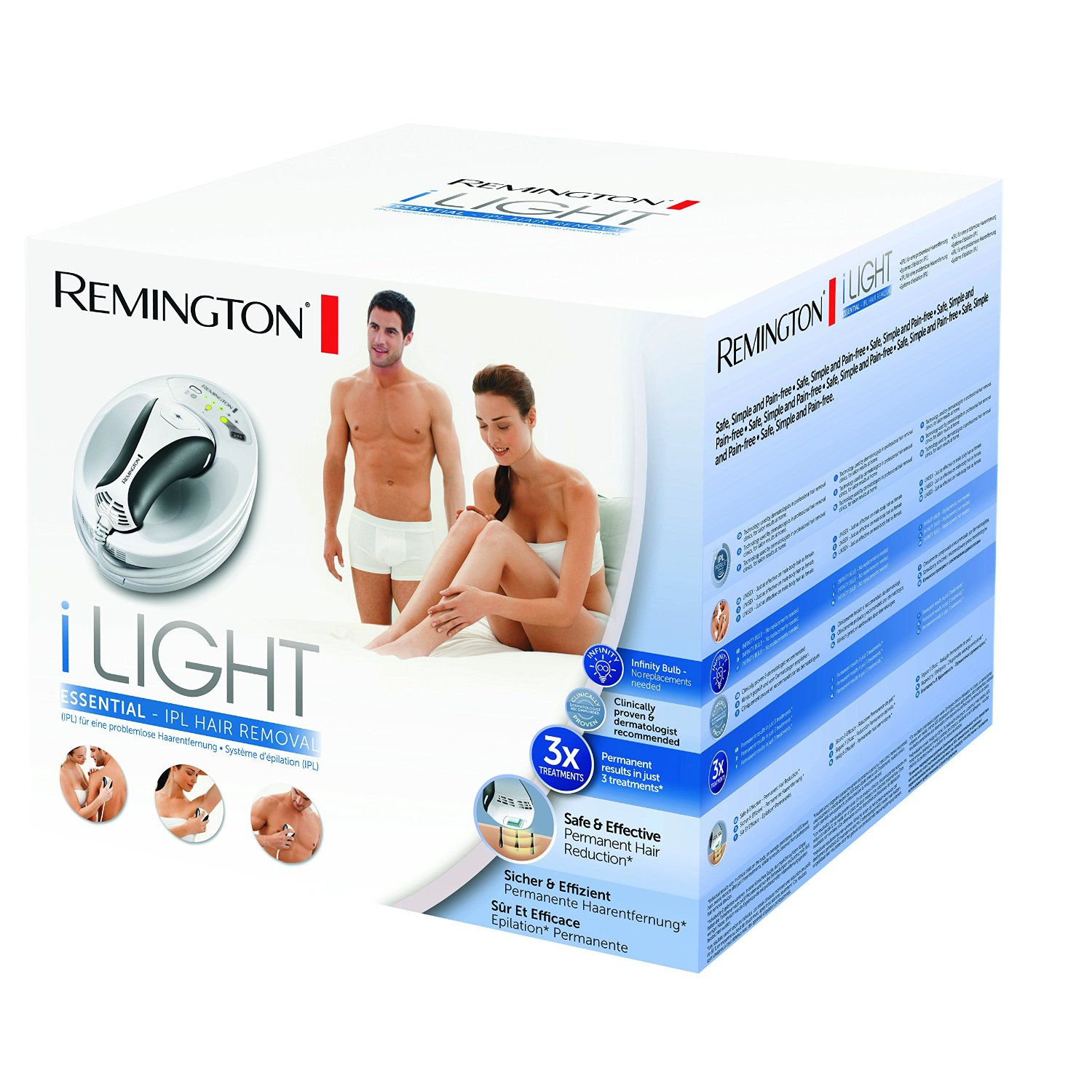 remington ipl6250 i-light essentiel test