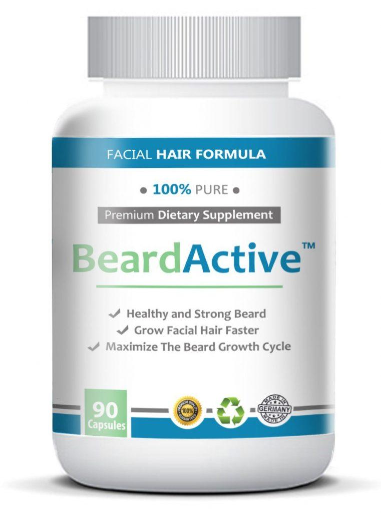 beard active accélérer la pousse de barbe
