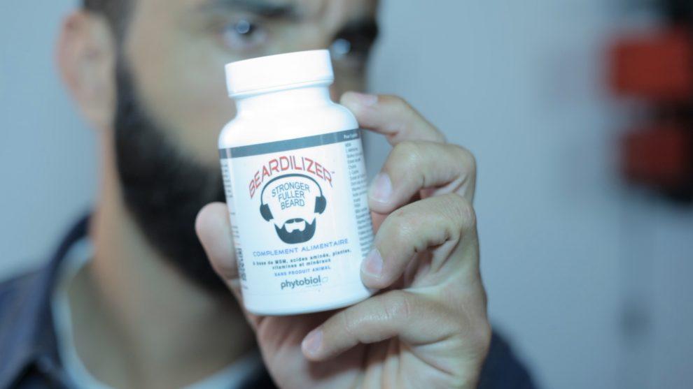 faire pousser sa barbe avec de l'huile pour barbe