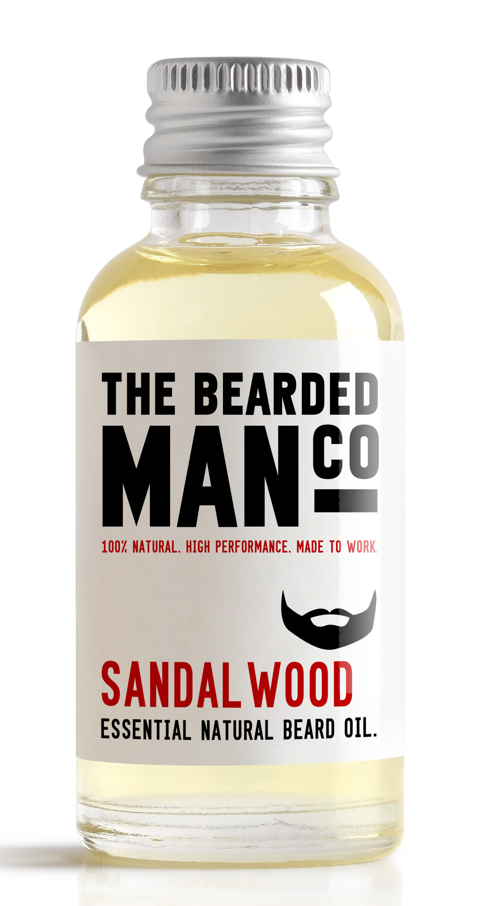 huile pour barbe THE BEARDED MAN SANDALWOOD
