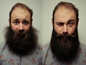 huile pour barbe avant et après