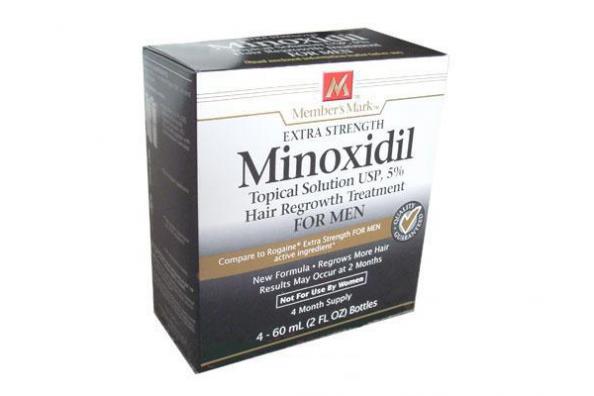 minoxidil barbe