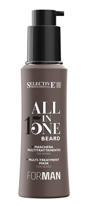 shampoing barbe Selective Professional All in One Beard