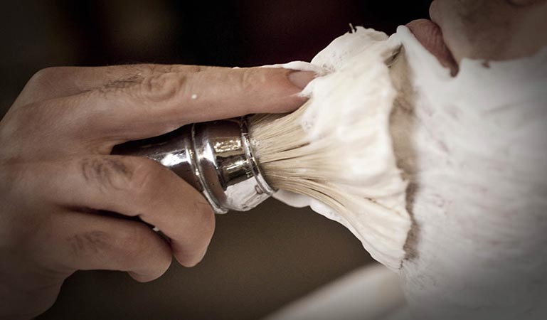 rasage traditionnel