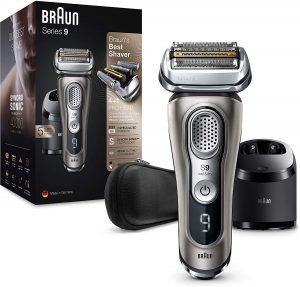 rasoir electrique peau sensible Braun Series 9 9385cc