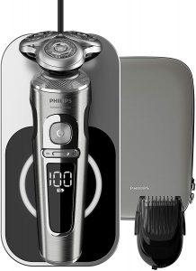 rasoir electrique peau sensible Philips SP9861:16 S9000 Prestige