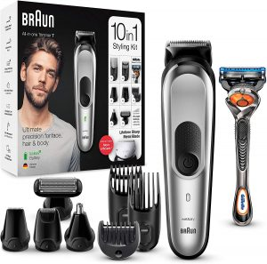 tondeuse barbe et cheveux Braun MGK7220 10-en-1