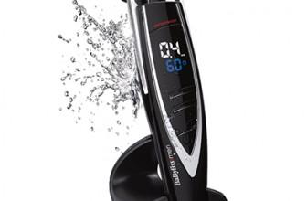 Test et Avis – Tondeuse à barbe Babyliss E880E i-Control