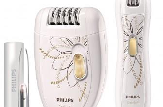 Découvrons ensemble le coffret épilateur électrique Philips HP 6540