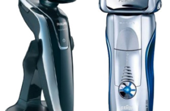 Duel au sommet des rasoirs électriques Braun et Philips : mettons fin au débat!